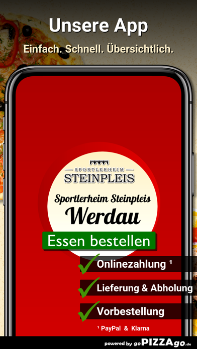 Sportlerheim Steinpleis Werdau screenshot 1