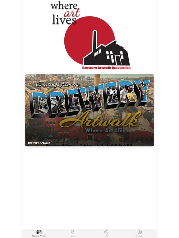 Brewery Artwalk App screenshot 5