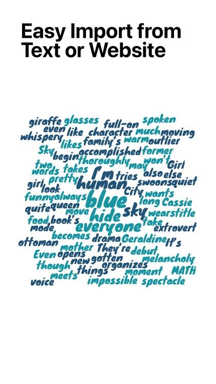 Word Collage screenshot-3