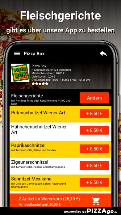 Pizza Box Büchlberg screenshot 6