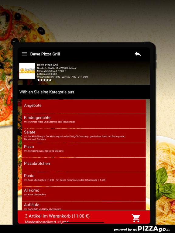 Bawa Pizza Grill Duisburg screenshot 8