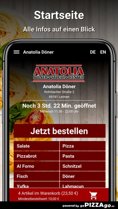 Anatolia Döner Leimen screenshot 2