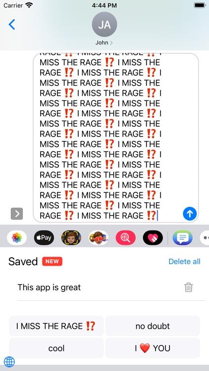 Copypasta Keyboard screenshot-7