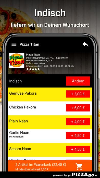 Pizza Titan Kippenheim screenshot 6