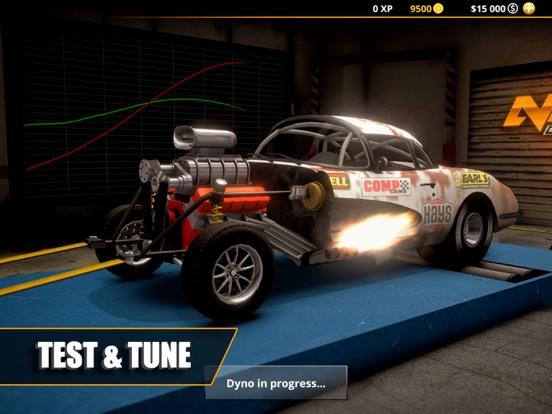 Ipad Screen Shot No Limit Drag Racing 2 2