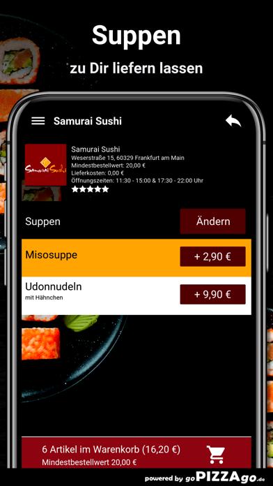 Samurai Sushi Frankfurt screenshot 5