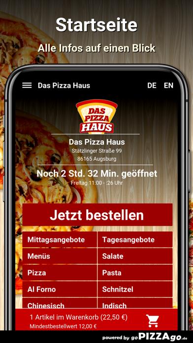 Das Pizza Haus Augsburg screenshot 2