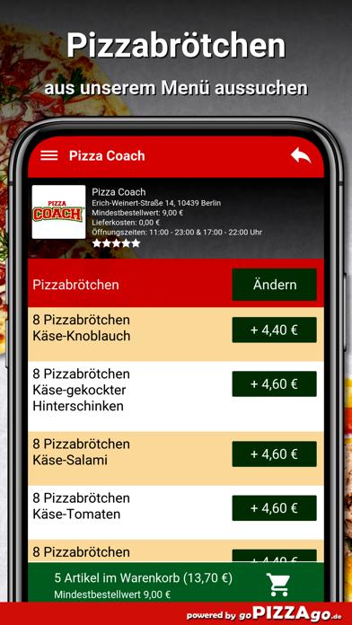 Pizza-Coach Berlin screenshot 5