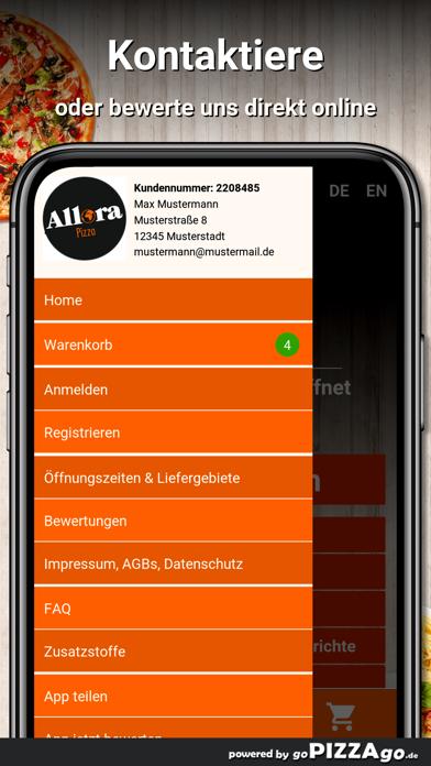 Allora Pizza München screenshot 1