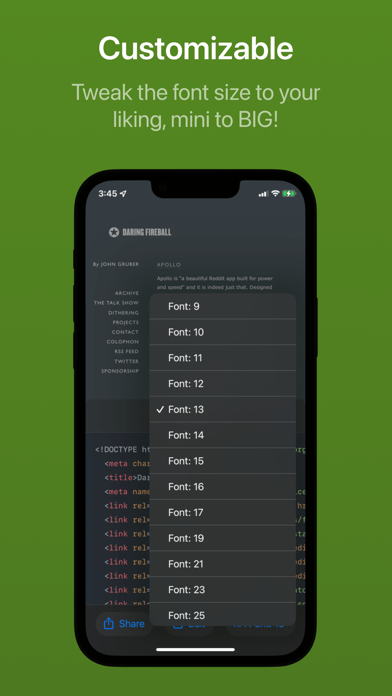 Скриншот №4 к Achoo HTML Viewer  Inspector