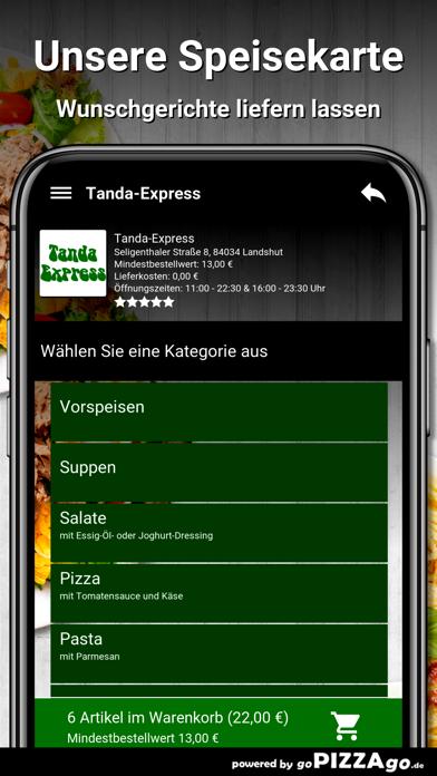 Tanda-Express Landshut screenshot 4