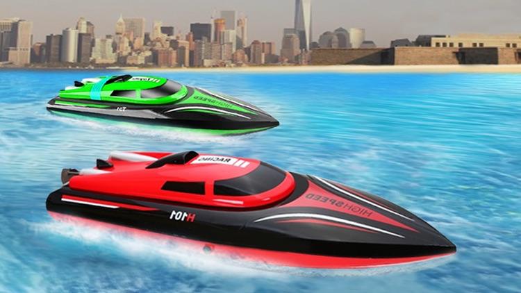 Speed Boat Driving Game 2021 screenshot-0