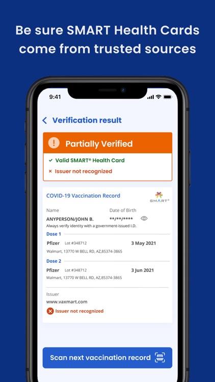 SMART Health Card Verifier screenshot-4