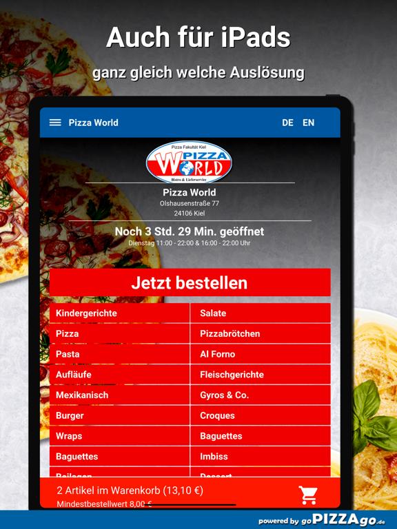 Pizza World Kiel screenshot 7