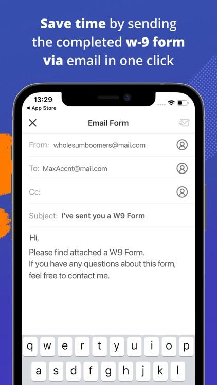 W-9 Form - PDF Template screenshot-6
