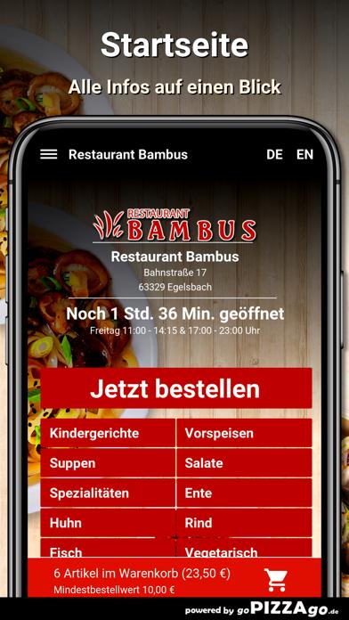 Restaurant Bambus Egelsbach screenshot 2