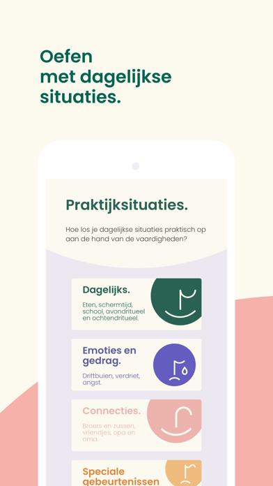 Howtotalk: Positief opvoeden iPhone app afbeelding 3