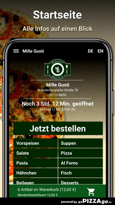 Mille Gusti Berlin screenshot 2
