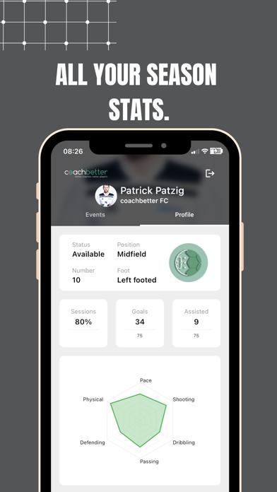 coachbetter Player App screenshot 3