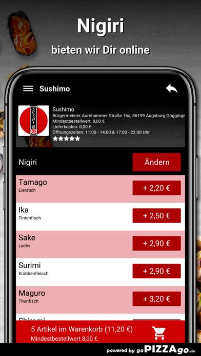 Sushimo Augsburg Göggingen screenshot 4