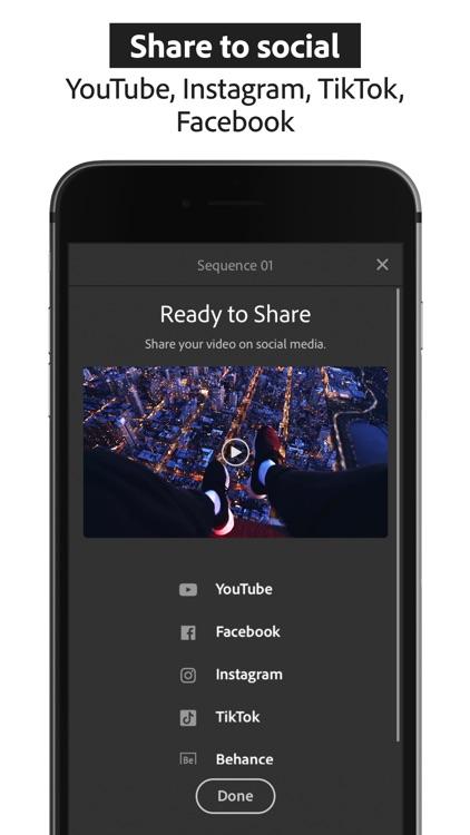 Adobe Premiere Rush:Edit Video screenshot-6