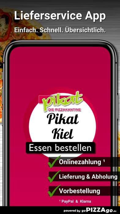 Pikat - Die Pizzakantine Kiel screenshot 1