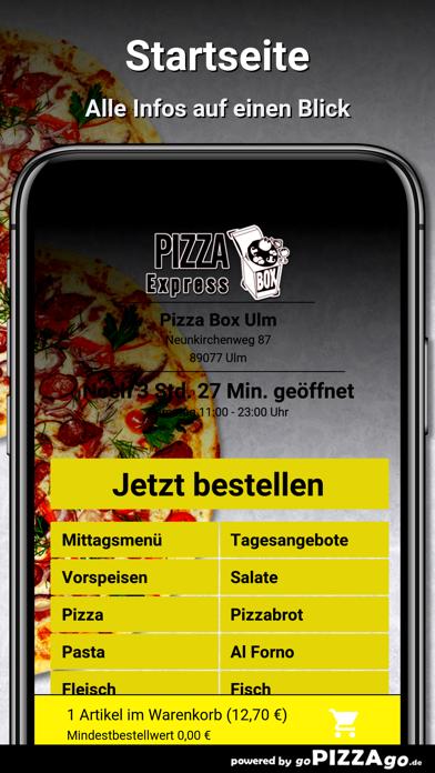 Pizza Box Ulm Ulm screenshot 2