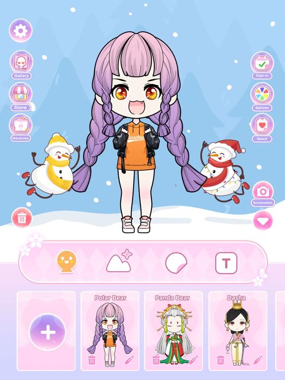 Anna Doll - Dress Up Game screenshot 7