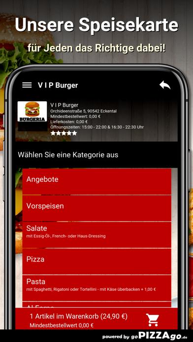 V I P Burger Eckental screenshot 4