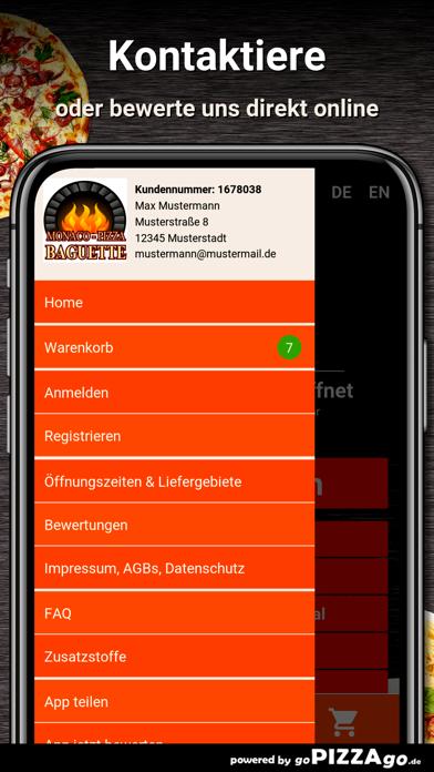 Monaco-Pizza München screenshot 3