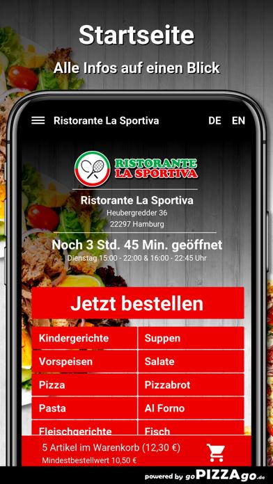 Ristorante La Sportiva Hamburg screenshot 2