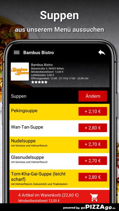 Bambus Bistro Witten screenshot 1