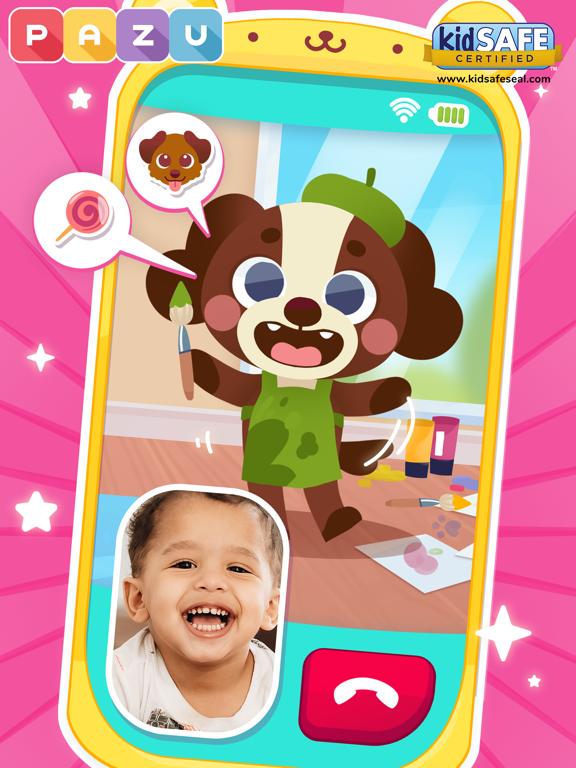 赤ちゃん携帯 - はじめての電話のおすすめ画像1