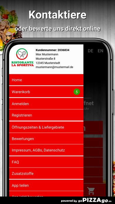 Ristorante La Sportiva Hamburg screenshot 3