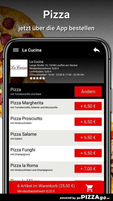 La Cucina Lauffen am Neckar screenshot 5
