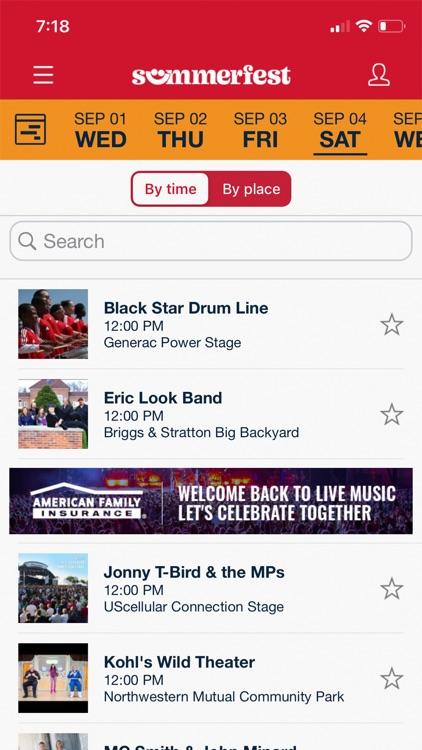 Official Summerfest 2021 App screenshot-3