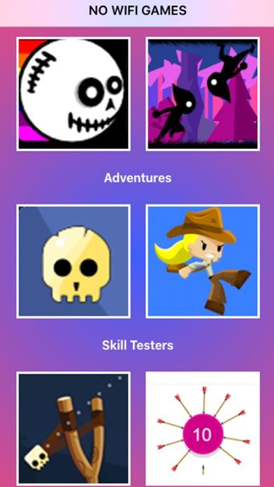 No Wifi Games   No Ads screenshot 1