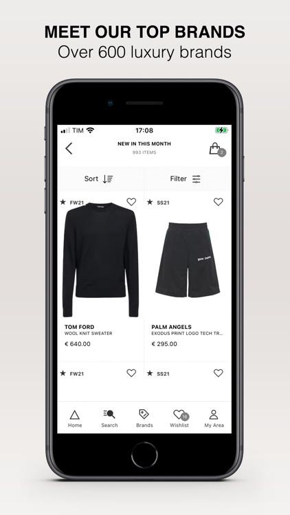 LuisaViaRoma: Designer Fashion screenshot-3