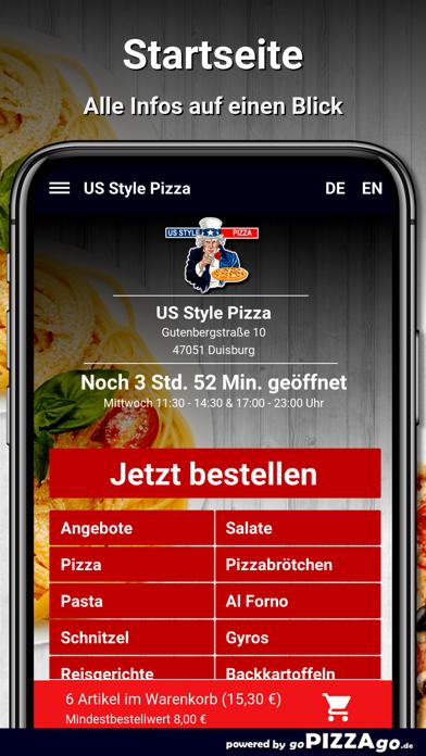 US Style Pizza Duisburg screenshot 2