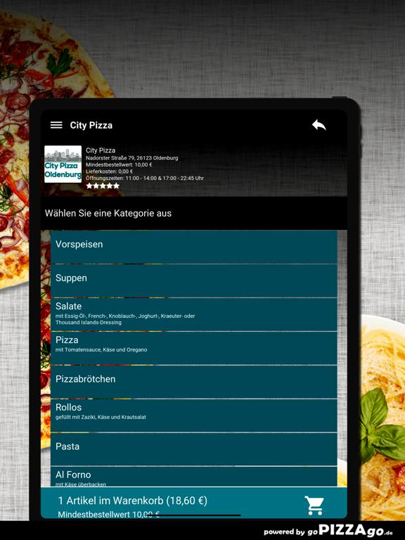 City-Pizza Oldenburg screenshot 8