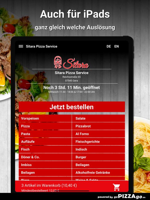 Sitara Pizza Service Gera screenshot 7