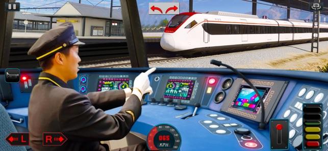 trò chơi lái tàu hiện đại 2021