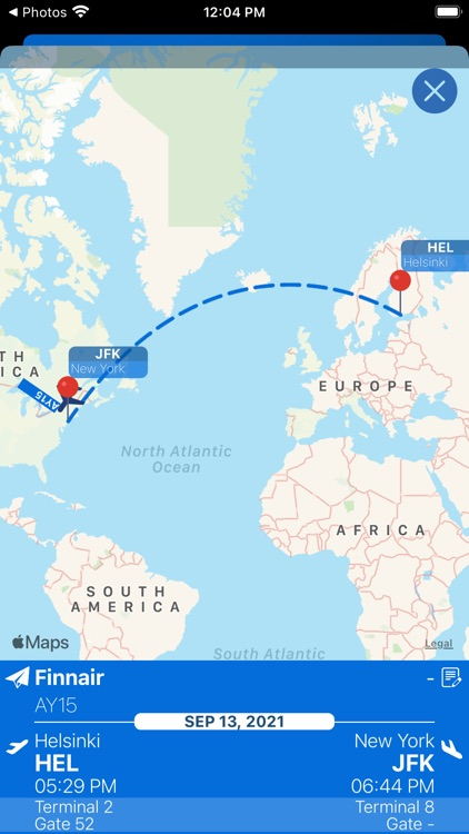 Kennedy Airport Info + Radar