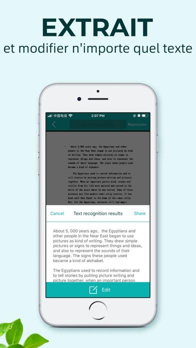 Screenshot #2 pour Scanner Document-WordScan