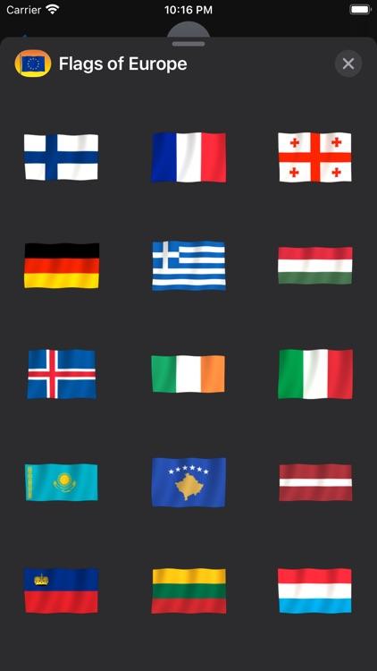 Flags of Europe screenshot-5