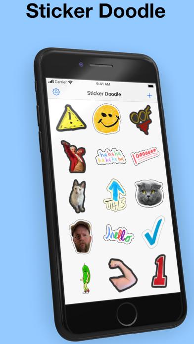 Sticker Doodle - draw stickers紹介画像1