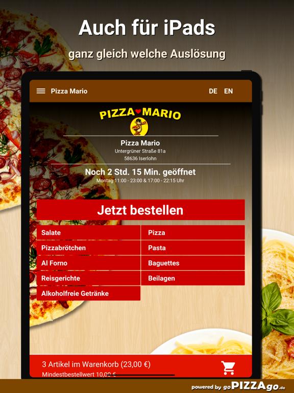 Pizza Mario Iserlohn screenshot 7