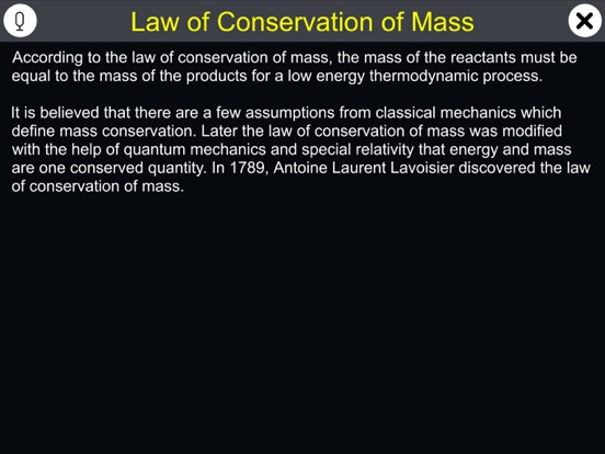 Law of Conservation of Mass screenshot 7