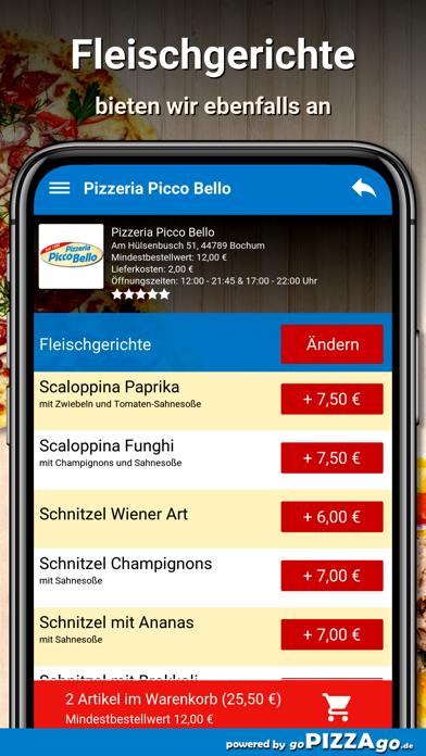 Pizzeria Picco Bello Bochum screenshot 6