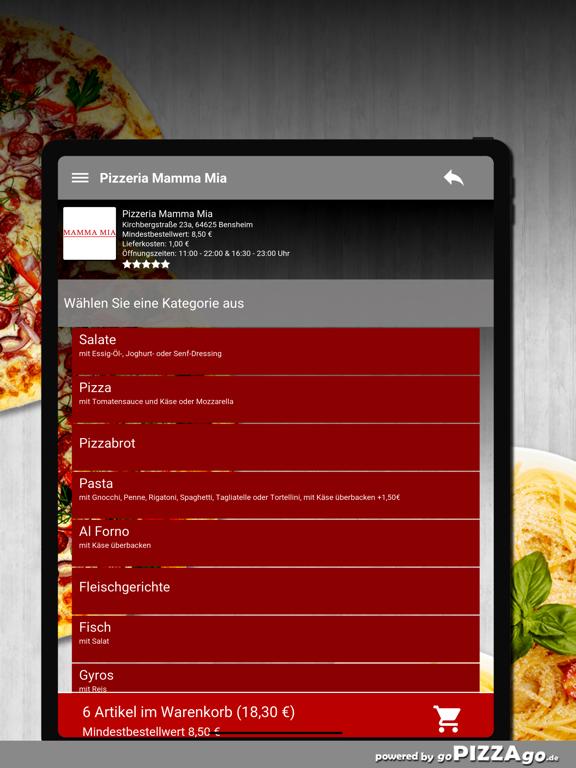 Pizzeria Mamma Mia Bensheim screenshot 8